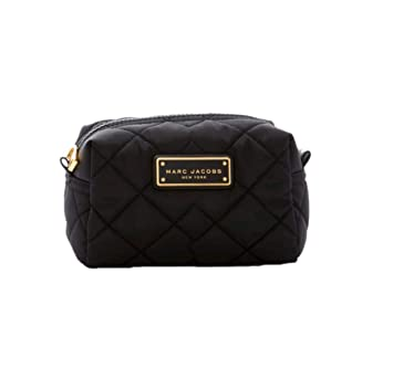 1374c165f593 Amazon.com   Marc Jacobs Quilted Nylon Large Cosmetic Case