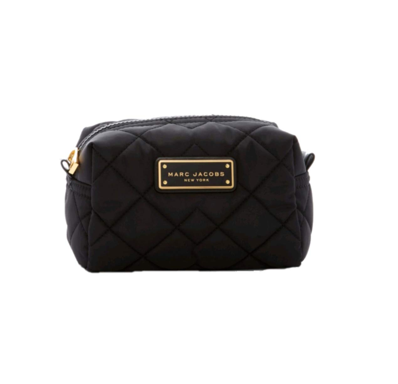 Marc Jacobs Quilted Nylon Large Cosmetic Case, Black