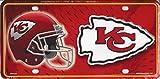 NFL Kansas City Chiefs Metal License Plate Tag