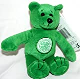 100% Official Club Merchandise Official Celtic Fc Crested Beanie Bear Toy Mascot