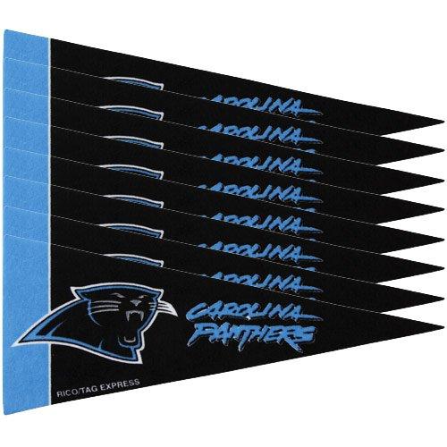 Carolina Panthers 8 Piece Mini Pennant ()