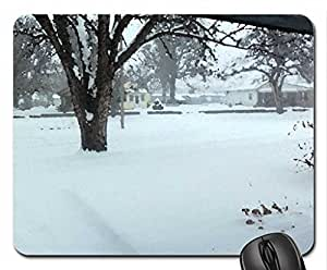 A Nice Winter! Mouse Pad, Mousepad (Winter Mouse Pad, 10.2 x 8.3 x 0.12 inches)