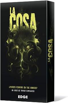 Edge Entertainment Asmodee - La Cosa, Juego de Mesa EDGPG01: Amazon.es: Juguetes y juegos