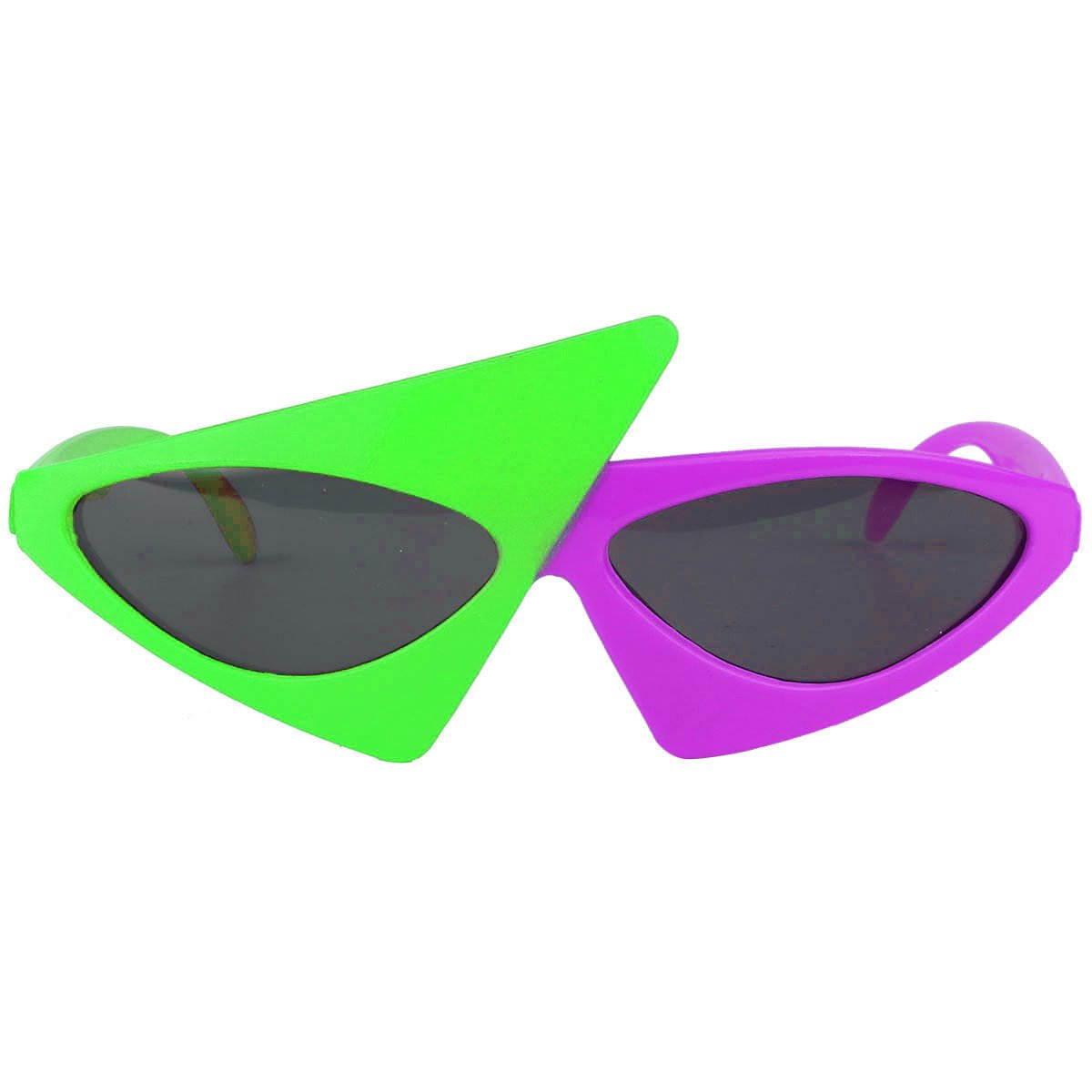 Amazon.com: YiZYiF 80s Asymmetric Glasses Novelty Funny 2 ...