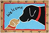 jelly bean dirt - Jellybean Welcome Dogs Accent Rug