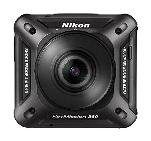Nikon 防水アクションカメラ KeyMission 360 BK ブラックの商品画像