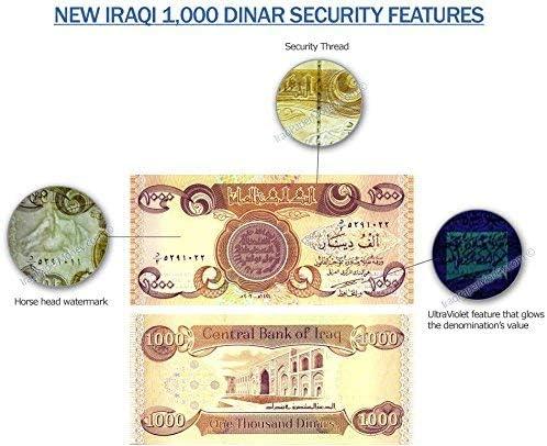 Iraqi Dinar 30,000 New Crisp Uncirculated 1,000 Banknotes Fast Ship! 30 x 1000
