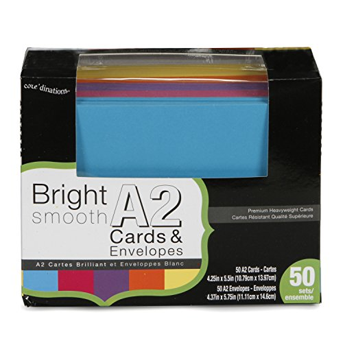 Darice Coordinations Envelopes Assorted Bright