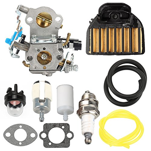 Harbot Wta 29 Carburetor With 537255701 Air Filter Tune Up Kit For Husqvarna 455 Rancher 455 E 460 461 Gas Chainsaw 544 88 83 01