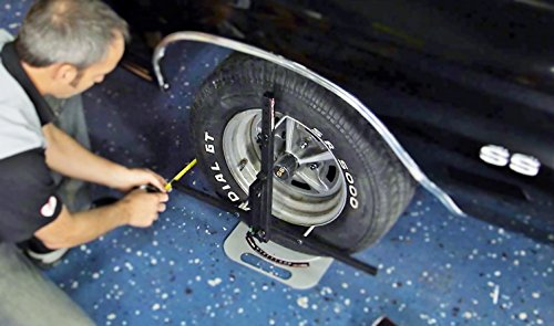 Pro System DIY Wheel Alignment Set up for BOTH Sides QuickSlide System w/Case Portable Wheel Alignment by QuickTrick (Image #9)