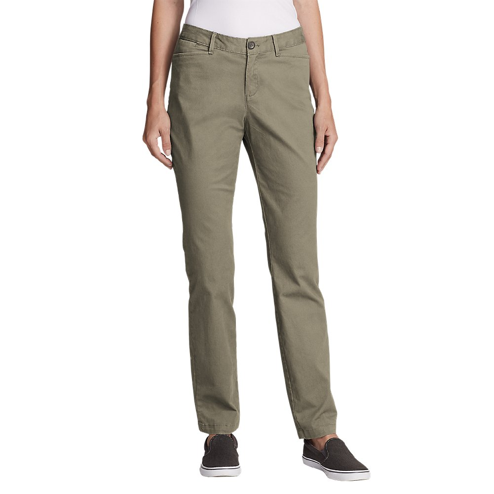 Eddie Bauer Women's Legend Wash Stretch Pants - Curvy Fit, Cloud Petite 12