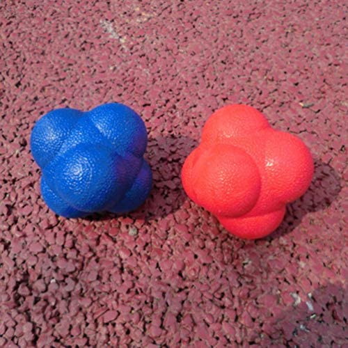 LIOOBO Bola de reacci/ón de Velocidad de Agilidad de 2 Piezas de b/éisbol y softbol para desarrollar una coordinaci/ón excepcional de Mano-Ojo
