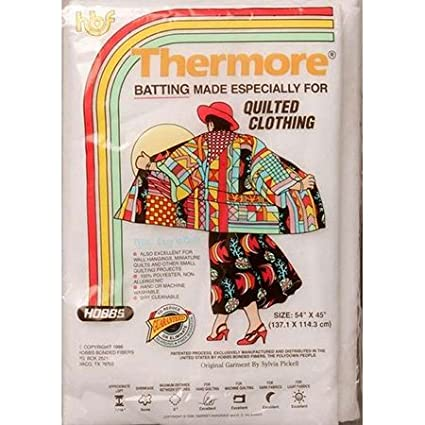 Hobbs Batting Thermore Craft Size Micro Loft Polyester Quilt Batting