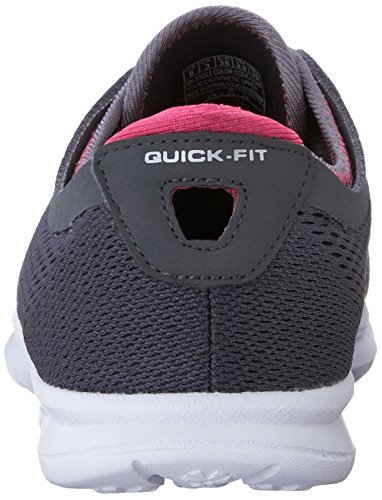 Hot Performance Skechers Pink Womens Go Sport Walking Shoe Step Charcoal Hxq7Pxf