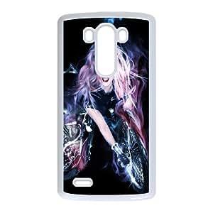 Lady Gaga SANDY024132 Phone Back Case Customized Art Print Design Hard Shell Protection LG G3