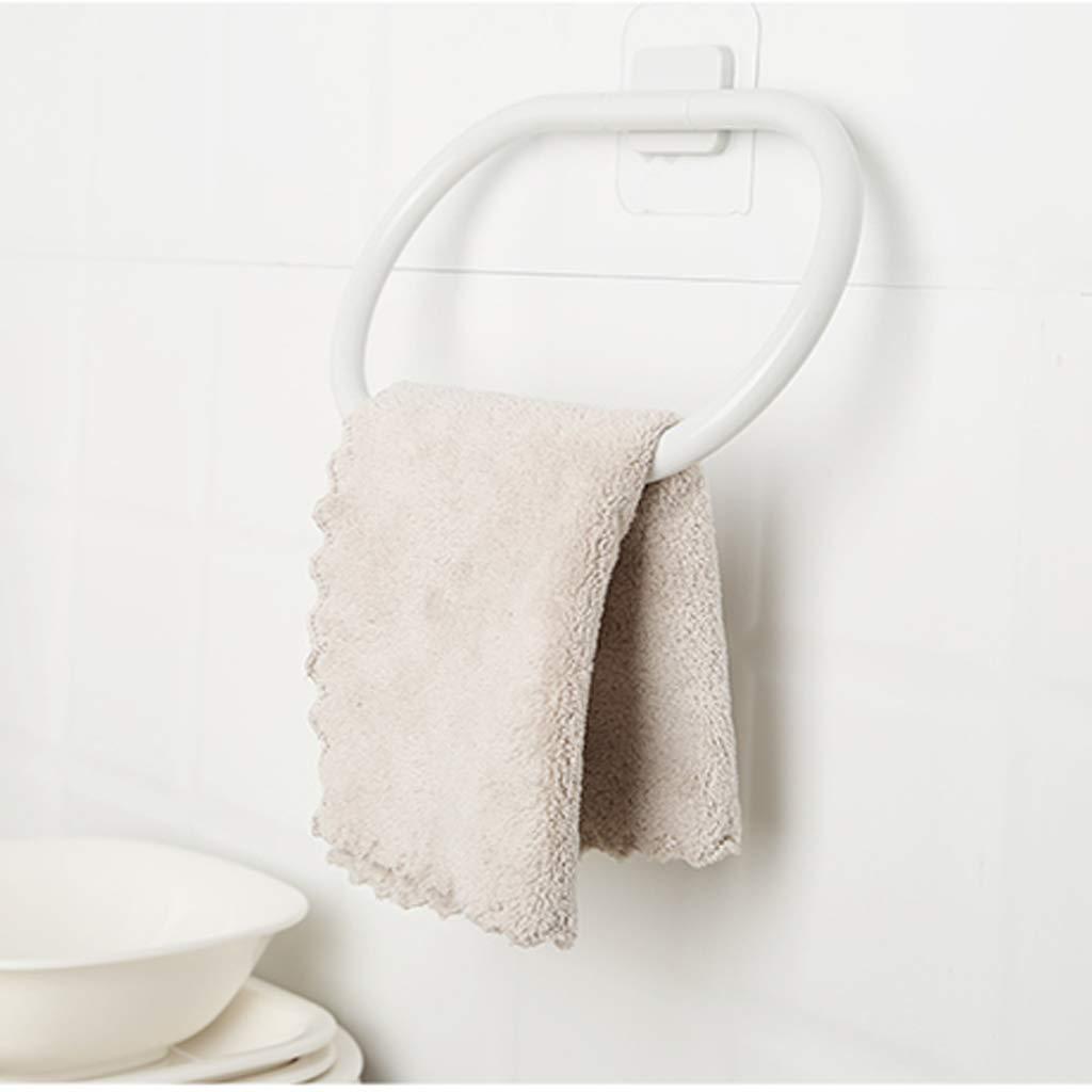 ZHANGY Straccio da cucina, cornice Anello asciugamano da bagno Punch free, bagno Telaio porta asciugamani da parete ZHANGY1123.com