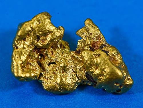 - #1020 Australian Natural Gold Nugget 2.40 Grams Genuine