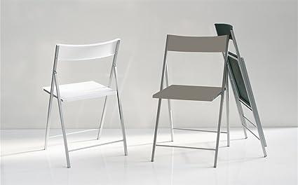 Set 6 sillas plegables salón cocina tapa polipropileno ...