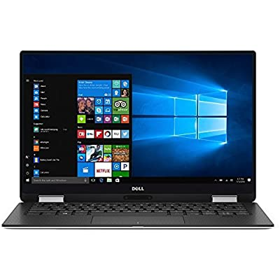 2018 New Dell XPS 9365 Flagship 2-in-1 Convertible Laptop / Tablet, 13.3 Inch QHD+ 3200x1800 InfinityEdge Touchscreen, i7-7Y75 Processor, 16GB RAM, 512GB SSD, Backlit Keyboard, Windows 10