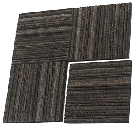 tire tiles heavy duty entrance rubber flooring tiles 25 pack 25 sq ft