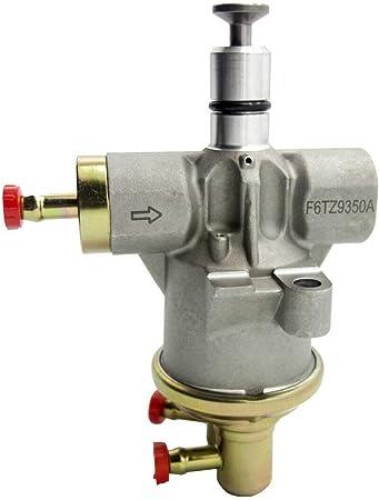Amazon Com Diesel Lift Valley Fuel Pump For 1994 1997 Ford F250 F350 Super Duty Powerstroke 7 3l F6tz 9350 A Automotive