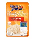 Uncle Ready Rice Enriched Long Grain White Original 8.8 OZ (Pack of 24)