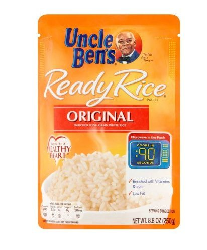 Uncle Ready Rice Enriched Long Grain White Original 8.8 OZ (Pack of 24) by Uncle Ben's