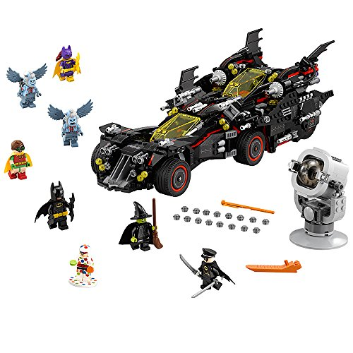 LEGO BATMAN MOVIE The Ultimate Batmobile 70917 Building Kit - Ultimate Witch Hat