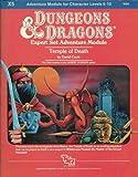 Temple of Death (D&D Expert Set Adventure, X5, 9069)