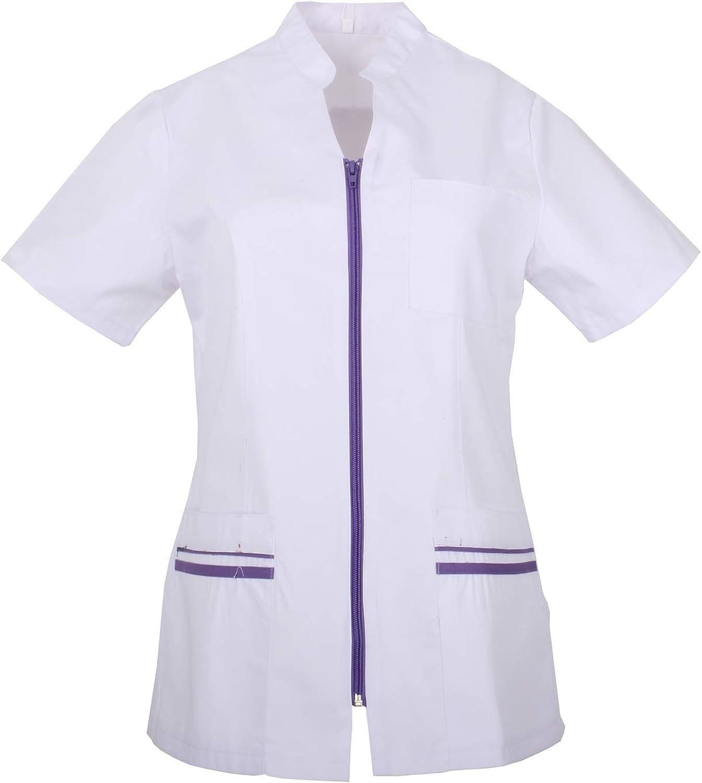 MISEMIYA Ref.702 Abbigliamento di Lavoro Signora Maniche Corte Uniforme Clinica Ospedale Pulizia Veterinario IGIENE OSPITALIT/Á