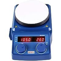 Pantalla LCD Agitador magnético Φ135mm Plato Caliente 100-1500