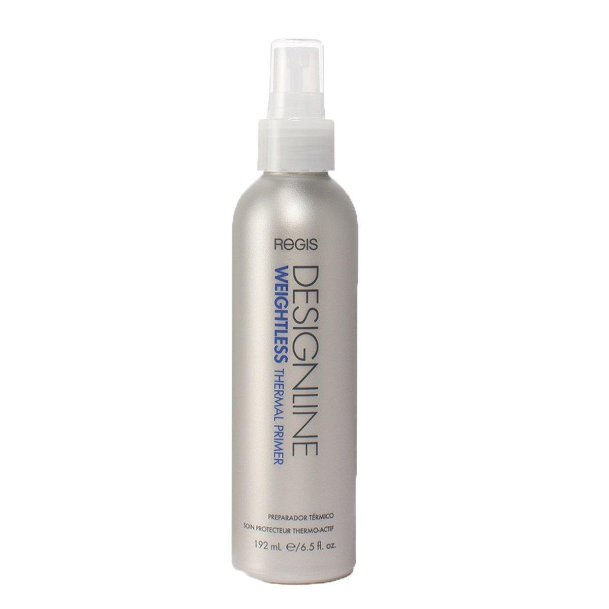 Weightless Thermal Primer, 6.5 oz - Regis DESIGNLINE - Softening, Detangling, Smoothing, and Strengthening Hair Primer (6.5 oz) by DESIGNLINE