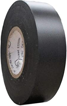 """POWER FIRST Electrical Tape 3//4/"""" x 60/' 7mm Vinyl BLUE"""