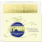 Bethlehem Ornament Boxed Holiday Cards 16 cards with 16 envelopes