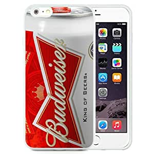 Hot Sale iPhone 6 Plus/iPhone 6S Plus 5.5 Inch TPU Case ,Budweiser White iPhone 6 Plus/iPhone 6S Plus Cover Unique And Popular Designed Phone Case