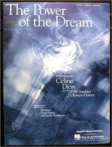 the power of the dream piano vocal guitar sheet music