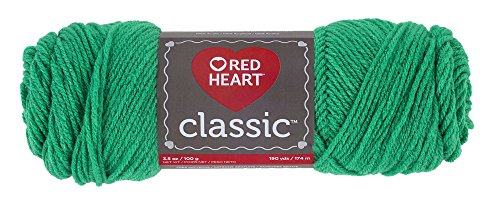 - Red Heart Classic Yarn, Emerald (E267.0676)