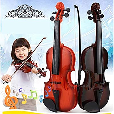 Mandii Creative Children's Violin Toy Early Education Music Simulation Toys Musical Instruments: Clothing