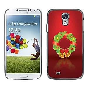 YOYO Slim PC / Aluminium Case Cover Armor Shell Portection //Christmas Holiday Decorations 1252 //Samsung Galaxy S4