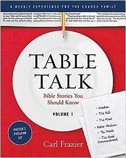 Remarkable Table Talk Volume 1 Pastors Program Kit Bible Stories Download Free Architecture Designs Scobabritishbridgeorg