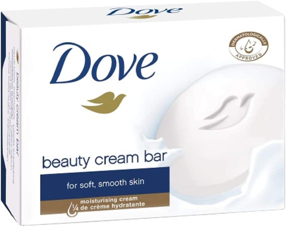 Amazon.com: Dove Original Beauty Cream Bar White Soap 100 G / 3.5 ...
