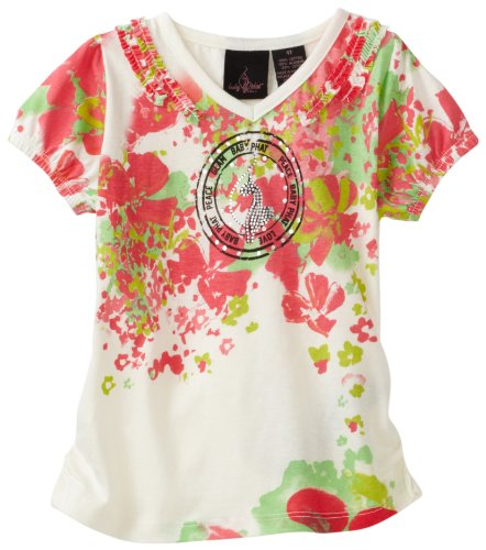 Baby Phat - Kids Little Girls' Floral Tee