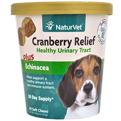 NaturVet Cranberry Relief Plus Echianecea Soft Chew 60ct ...
