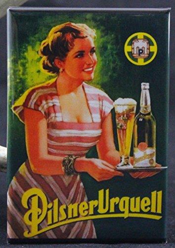 Puerto Rico Usa Rum (Pilsner Urquell Refrigerator Magnet.)