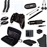 dreamGEAR Nintendo 3DS 20-in-1 Essentials Kit (black)