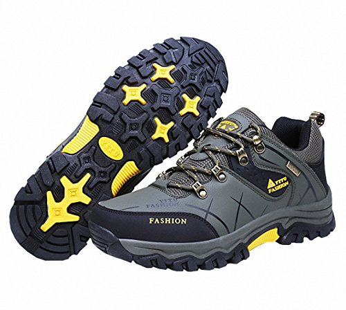 Ben Sports Zapatillas de senderismo Botas de senderismo Correr en montaña de Hombre,39-47 verde