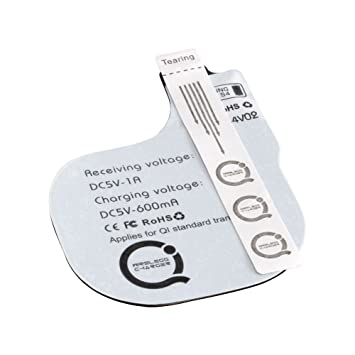 Ansmann QI - Cargador de móvil por inducción para Samsung Galaxy S4, Color Blanco
