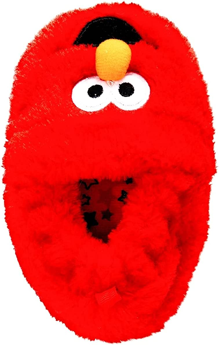 Licensed Plush Elmo Character Red Slipper( Infant boys)
