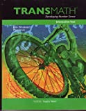 Transmath Developing Number Sense Student Interactive Text (Level 1), John Woodward, 1606970437