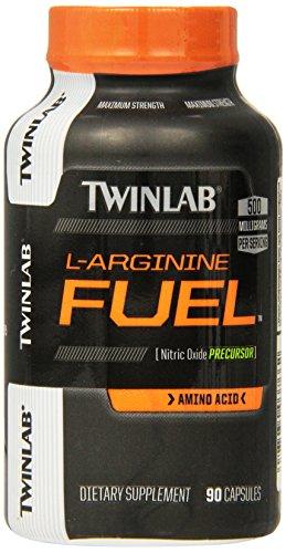 (Twinlab L-Arginine Fuel Capsules, 500 Mg, 90 Count)
